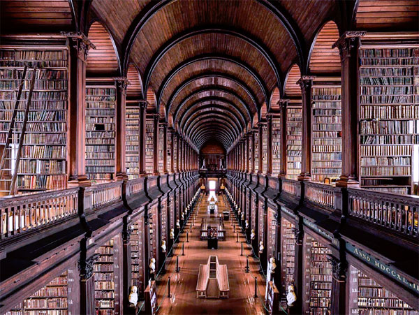 Long Room, Trinity College, Dublin, Ireland