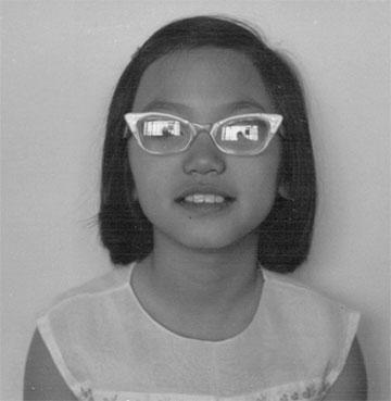 Linda Sue Park, third grade, circa 1967
